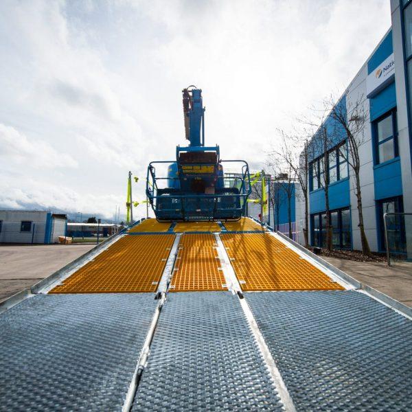 Sterling Nationwide Platforms Double-flip beavertail truck